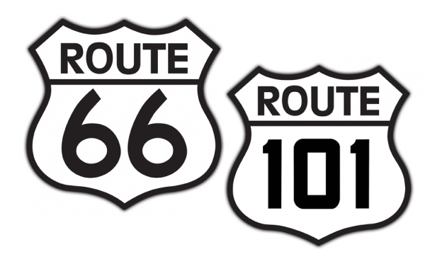 Vintage Highway Signs 50