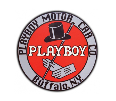 Playboy Motor Car Vintage Sign Antique Garage Signs By