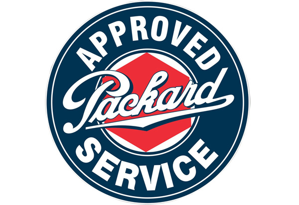 Packard Vintage Sign by SignPast