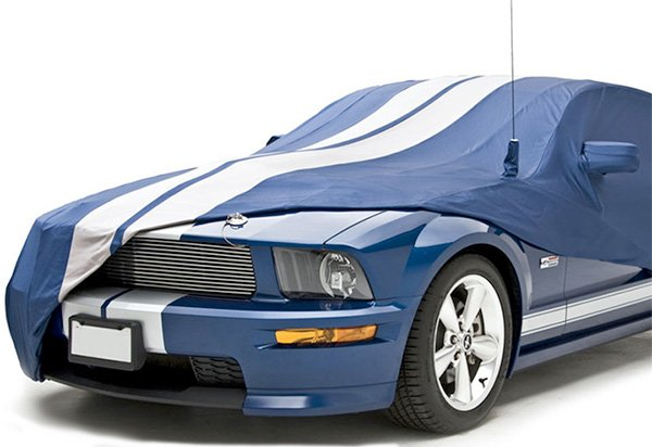 Coverking Satin Stretch Racing Stripe Car Cover