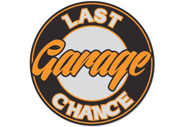 Last Chance Garage Vintage Sign By SignPast
