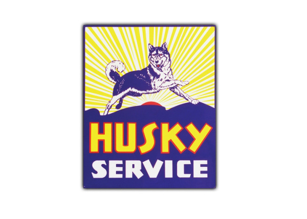 Husky Service Vintage Sign by SignPast