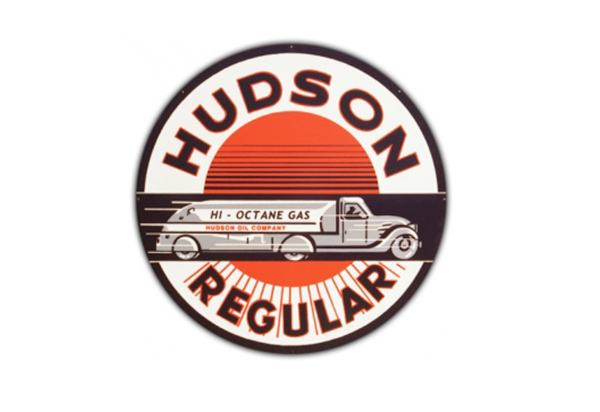 Hudson Gas Vintage Sign by SignPast