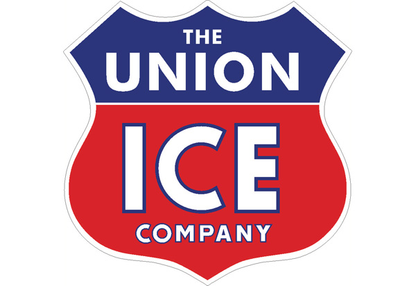 Union Ice Vintage Sign by SignPast