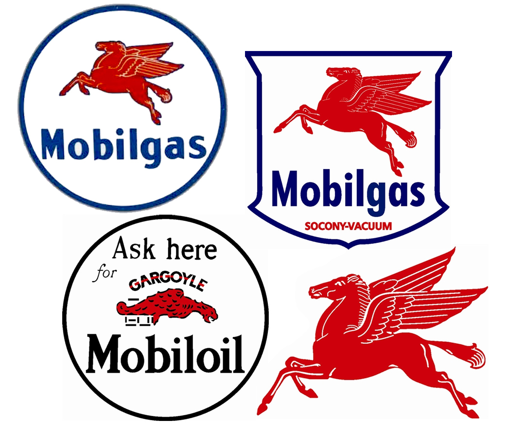 mobil gas sign mobil gas vintage sign by signpast