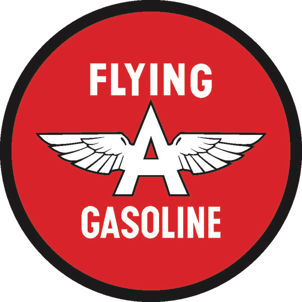 Flying A Gas Sign Flying A Gas Vintage Garage Sign By