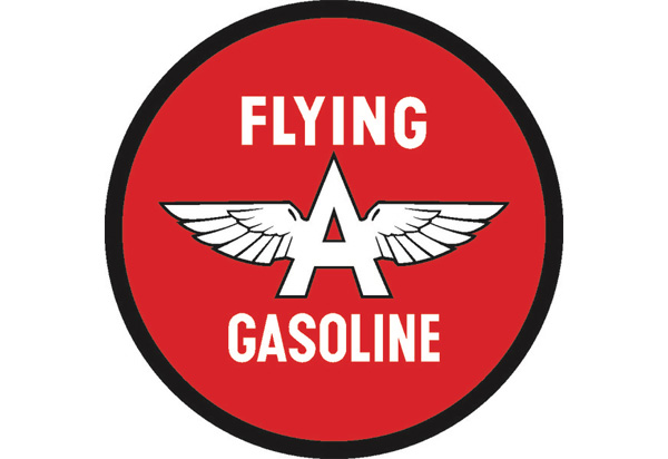 Flying A Gas Vintage Sign by SignPast