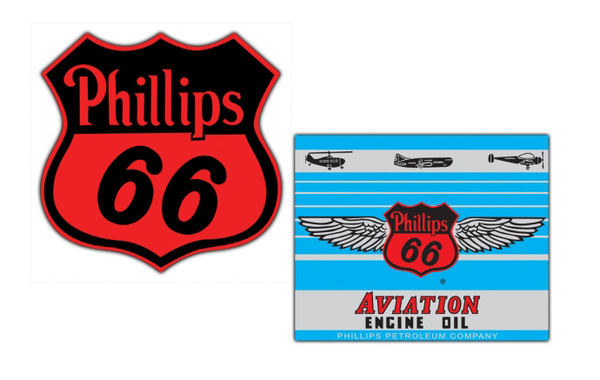 Phillips 66 Vintage Sign by SignPast