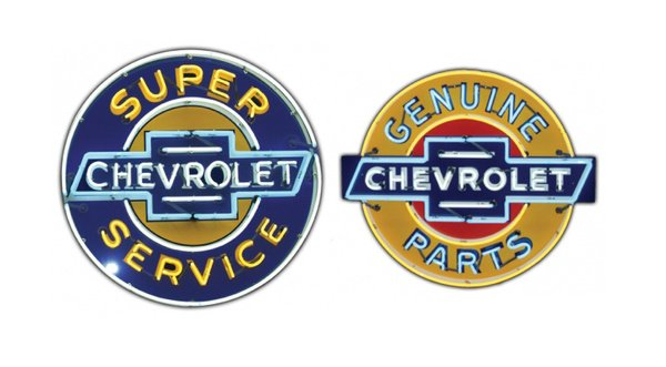 Chevrolet Neon Sign by SignPast