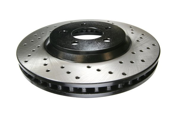 StopTech SportStop Drilled Brake Rotor