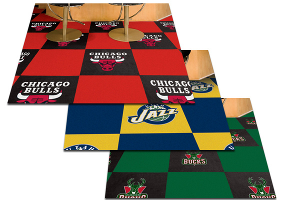 Fanmats NBA Carpet Floor Tiles