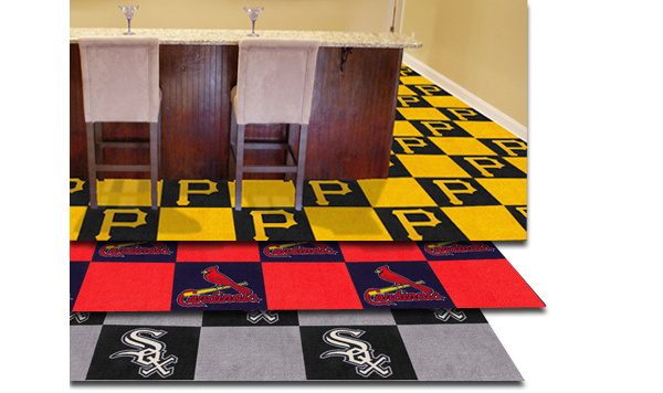 Fanmats MLB Carpet Floor Tiles