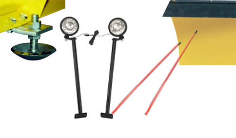 snowbear accessories free shipping on snow snow plow lights casters