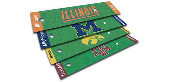 Fanmats NCAA Putting Green Mat