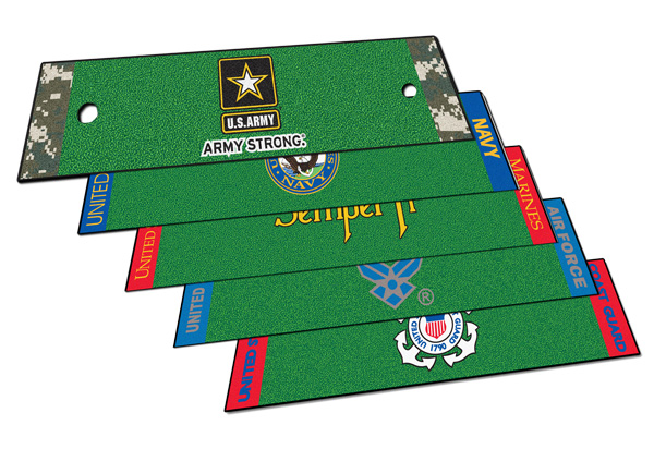 Fanmats Military Putting Green Mat