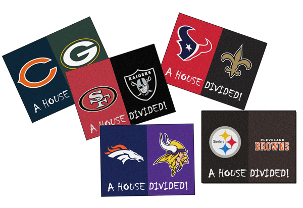 Fanmats NFL House Divided Mat