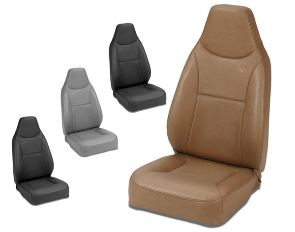 Bestop TrailMax II Fixed High Back Front Seat