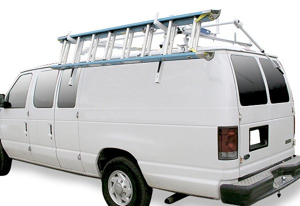 Drop Down Ladder Rack Accessory Hauler Racks Van Racks