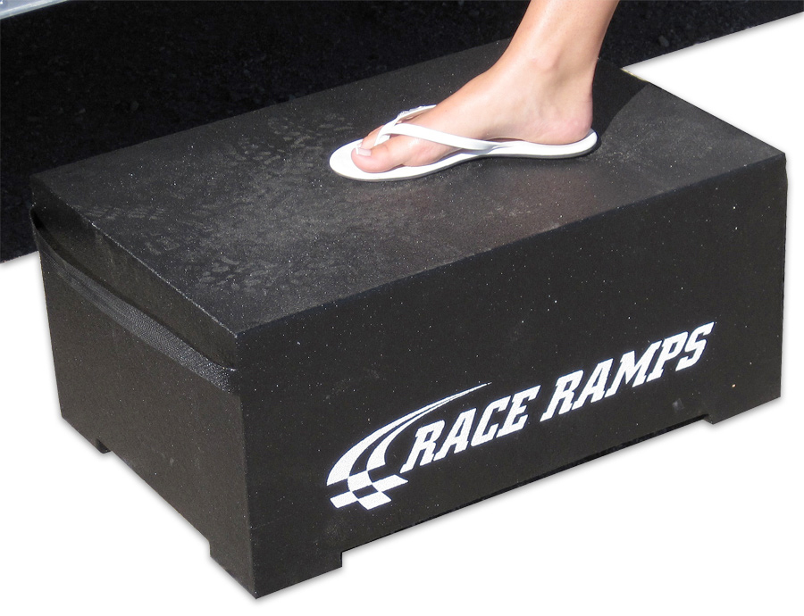 Race Ramps Trailer Step Garage Step