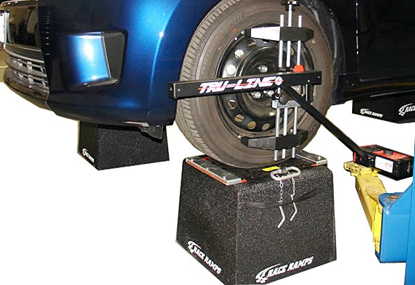 Race Ramps Wheel Stands