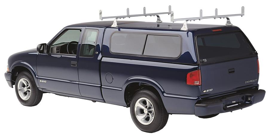 Hauler Racks Universal Cap Rack  sc 1 st  Auto Accessories Garage & Hauler Racks Universal Cap Rack - Aluminum Truck Bars Ship Free