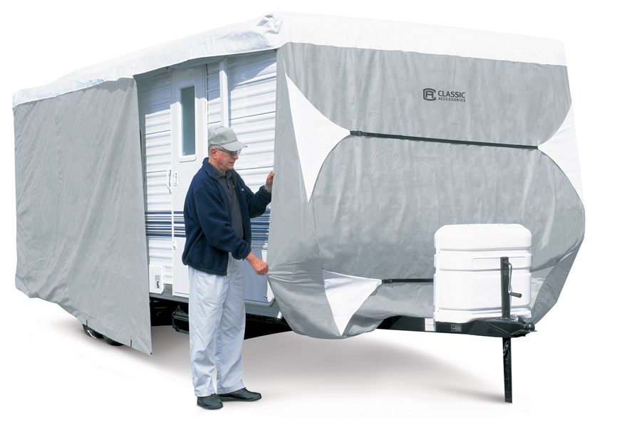 Classic 73163 travel trailer polypro iii deluxe rv cover ebay