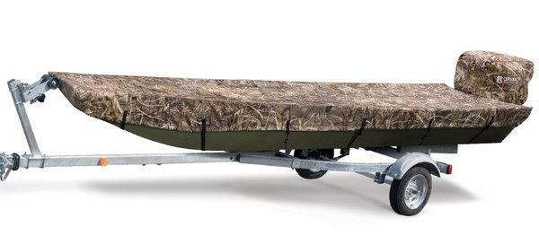 Classic Accessories Jon Boat Cover Classic Hunting Boat Cover