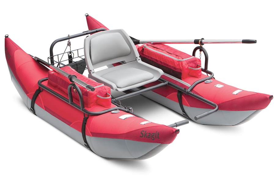 Skagit pontoon boat classic accessories inflatable for Inflatable fishing pontoon
