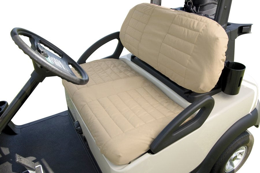 golf cart seat cover classic accessories fleece golf cart seat cover. Black Bedroom Furniture Sets. Home Design Ideas