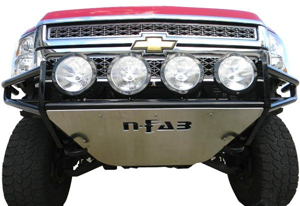 N-Fab Full Replacement Bumper