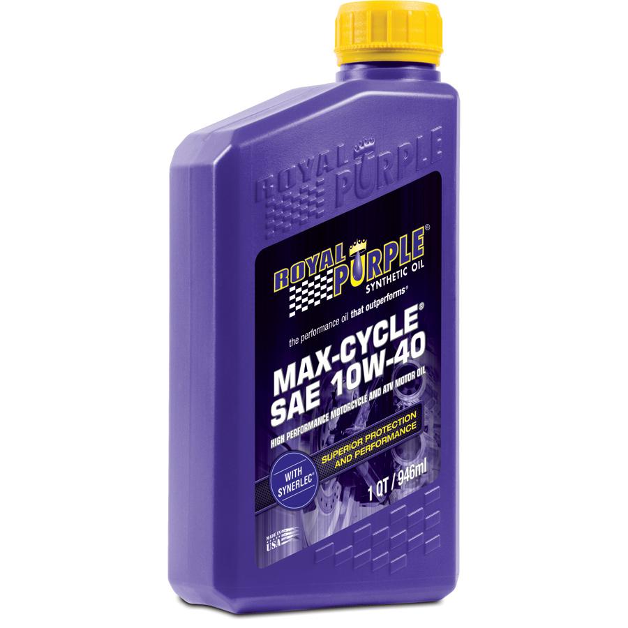 Royal Purple Max Cycle Motorcycle Motor Oil Free Shipping