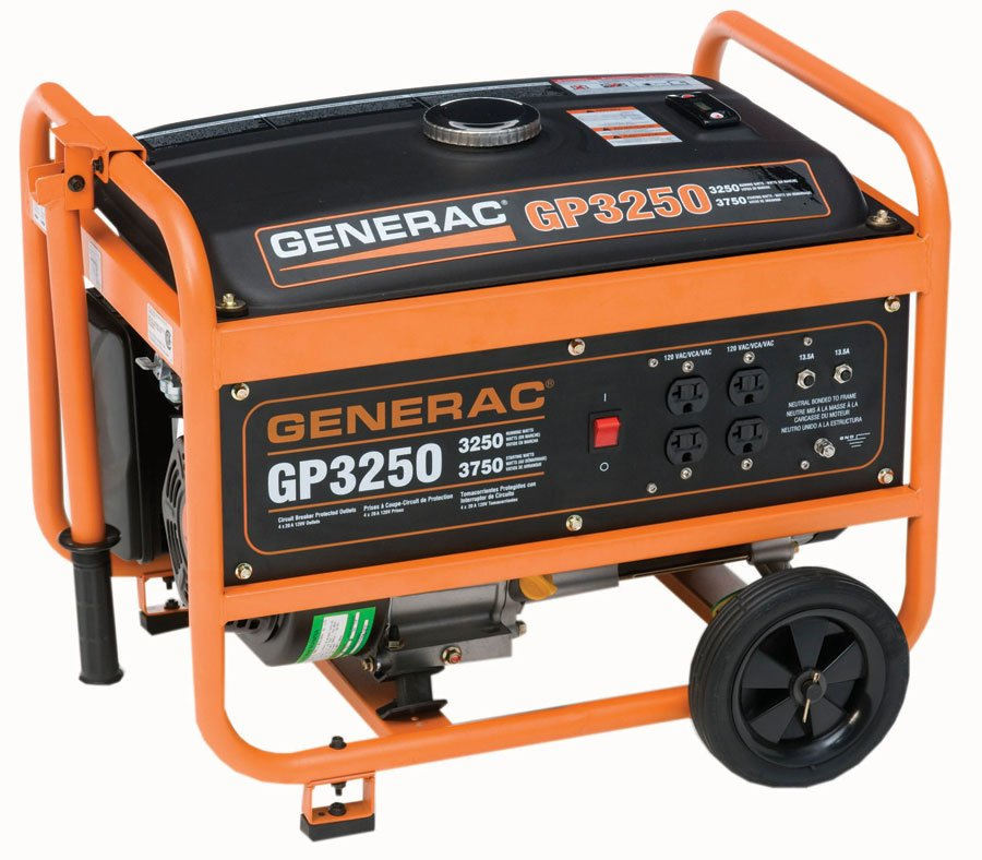 generac gp series portable generator free shipping. Black Bedroom Furniture Sets. Home Design Ideas