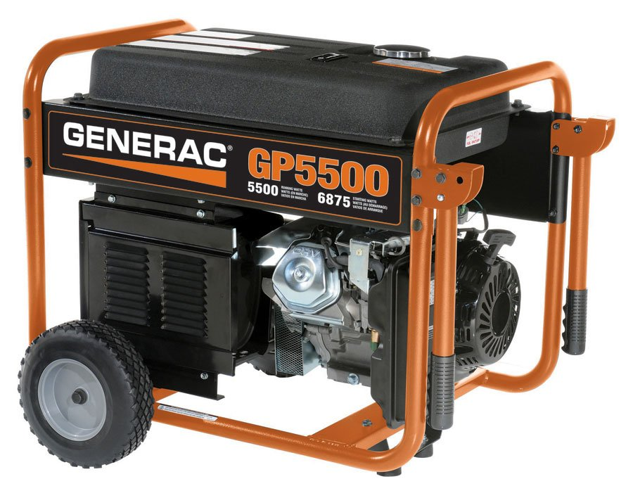 Generac GP Series Portable Generator - Free Shipping