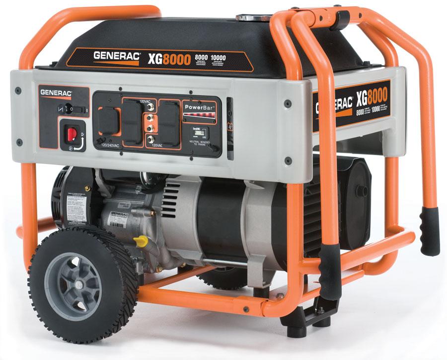 generac xg generator xg series generac portable generators