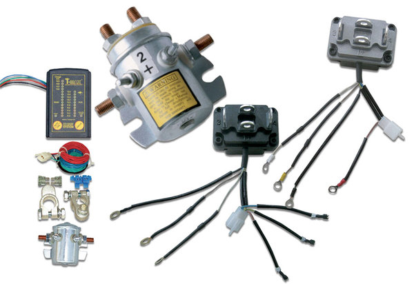 T-Max Dual Battery System & Replacement Solenoids