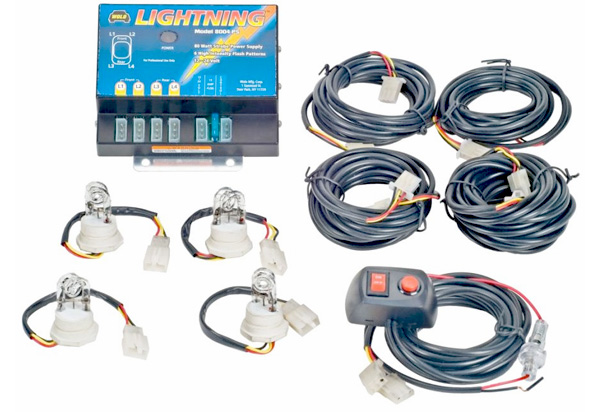 Wolo Strobe Light Kit