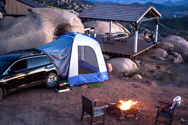Sportz Minivan Amp Suv Tent Camping Tent From Napier Ships