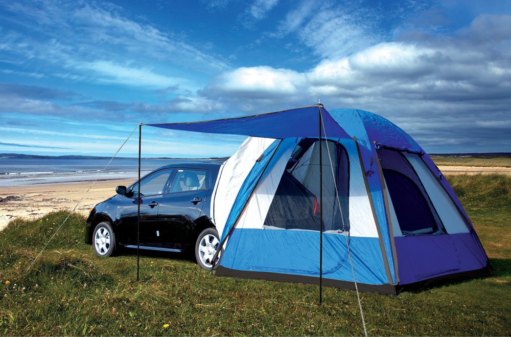 Car Driving Tent Picture : Sportz dome to go hatchback tent camping gear by napier