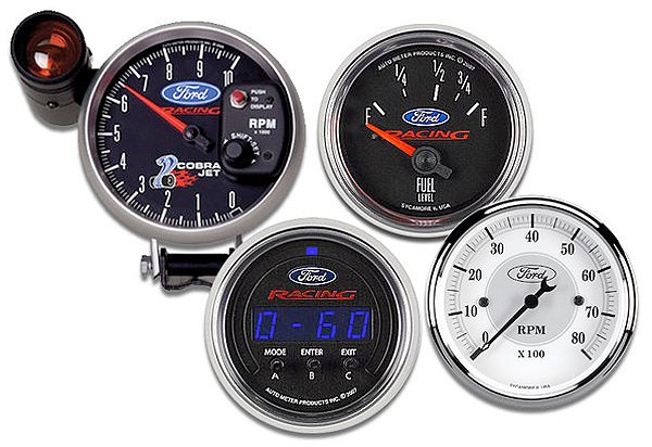 AutoMeter Ford Racing Series Gauges
