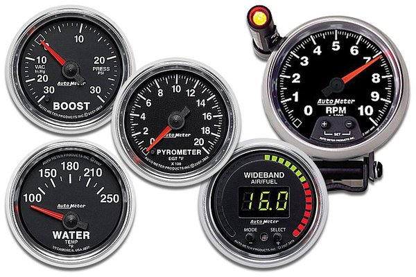 AutoMeter GS Series Gauges