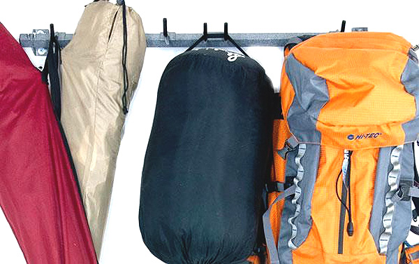 Monkey Bars Camping Gear Rack