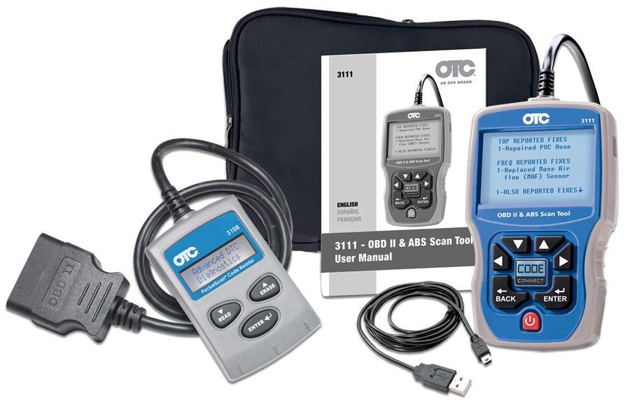 Otc 3111pro Obd Ii Can Abs Diagnostic Tool