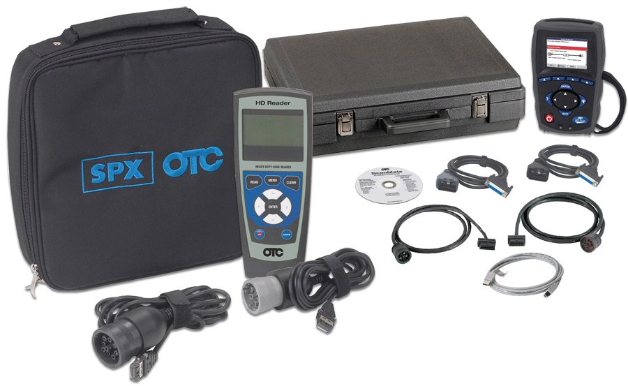 otc 3418 heavy duty code reader