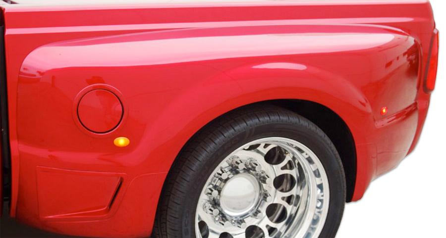 Big Truck Fiberglass Fenders : Big boy rear fenders street scene ford truck