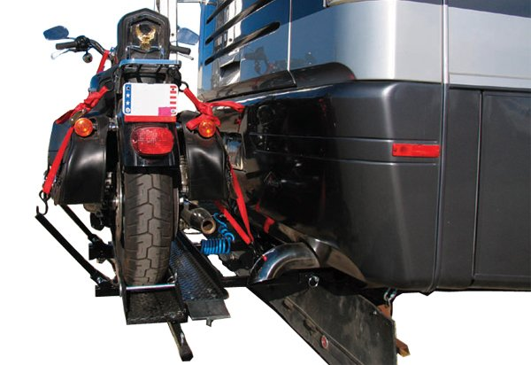 Blue Ox Motorcycle Carrier