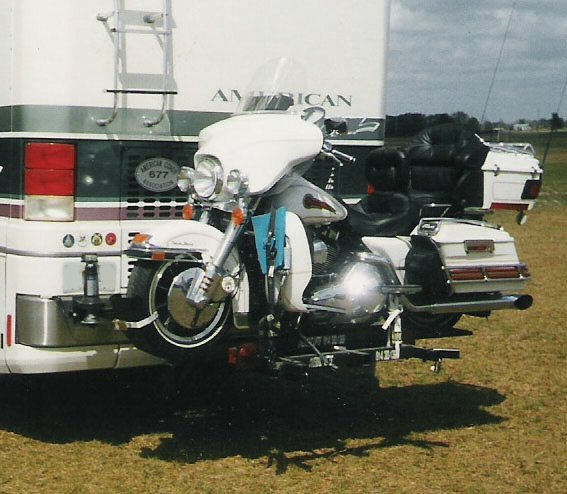 24 simple motorhome scooter carrier for Motor scooter blue book