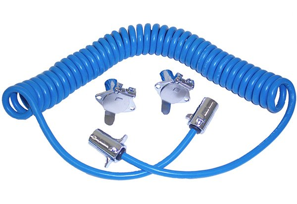 Blue Ox Coiled Electrical Cable