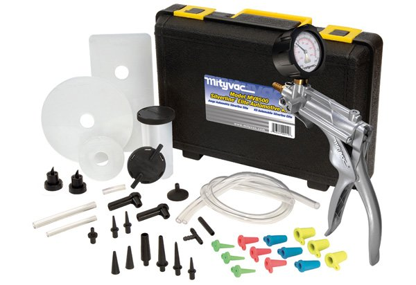 Mityvac Silverline Elite Hand Vacuum Pump Kit