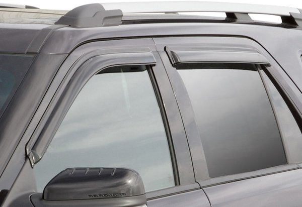 In Channel Vs Tape On Vent Visors What Are The Best Window Deflectors