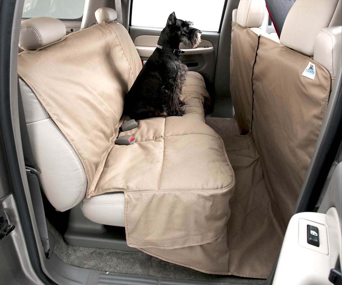 Car Seat Protector >> Canine Covers Custom Rear Seat Protector Free Shipping
